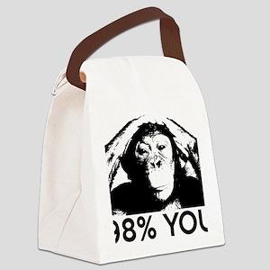 98Chimp Canvas Lunch Bag