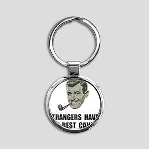 Strangers Best Candy Round Keychain