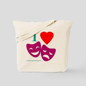 I Love Theatre Tote Bag
