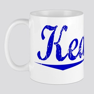 Keating, Blue, Aged Mug