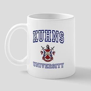 KUHNS University Mug