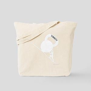 Sisyphus Kettlebell Tenacity - for Dark S Tote Bag