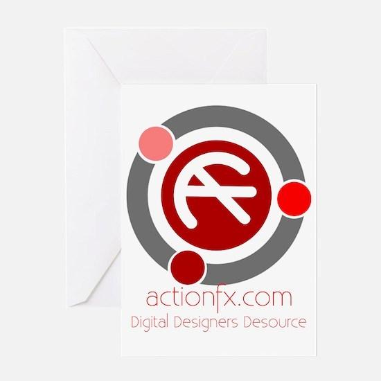 ActionFx Logo Greeting Card