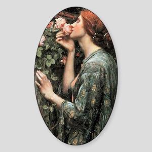 John William Waterhouse My Sweet Ro Sticker (Oval)