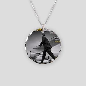 Barack Obama COOL STRUTTIN'  Necklace Circle Charm