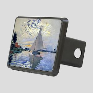 Claude Monet Sailboat Rectangular Hitch Cover