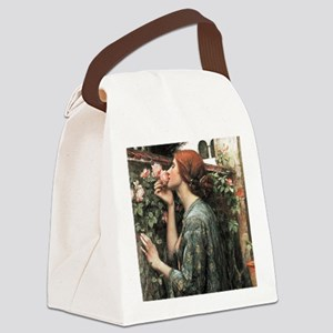 John William Waterhouse My Sweet  Canvas Lunch Bag