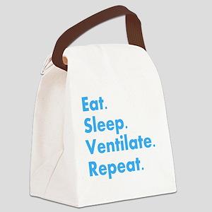 RT Eat sleep VENTILATE DARKS Canvas Lunch Bag