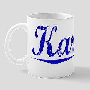 Karcher, Blue, Aged Mug