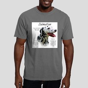 Dalmatian (black spots) Mens Comfort Colors Shirt