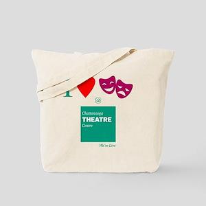 I Love Theatre - Chattanooga Theatre Cent Tote Bag
