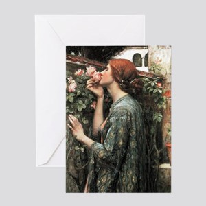 John William Waterhouse My Sweet Ros Greeting Card
