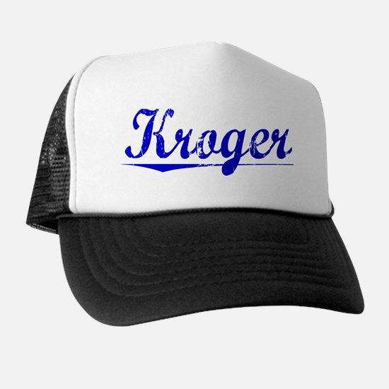 Kroger, Blue, Aged Trucker Hat