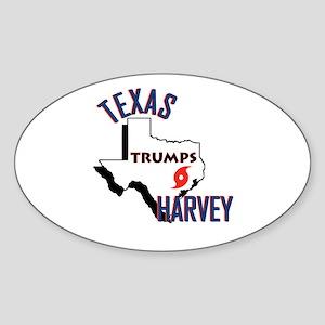 TEXAS TRUMPS HARVEY Sticker