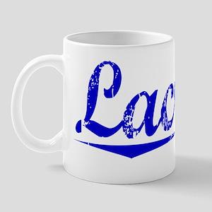 Lacroix, Blue, Aged Mug