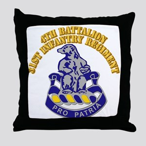 4th Battalion - 31st Infantry Regiment With Text T