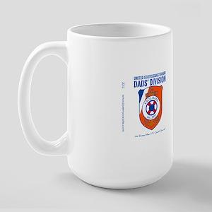 USCG Dads Division Large Mug