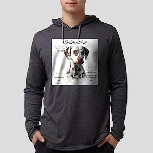 Dalmatian (liver spots) Mens Hooded Shirt