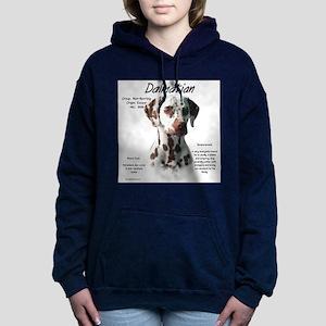 Dalmatian (liver spots) Women's Hooded Sweatshirt