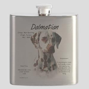 Dalmatian (liver spots) Flask