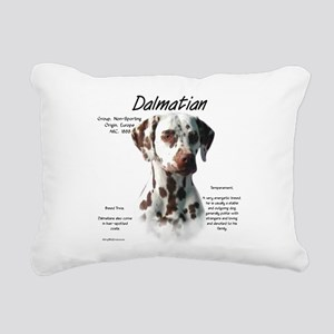 Dalmatian (liver spots) Rectangular Canvas Pillow