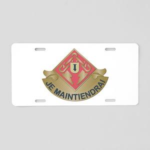DUI - 169th Ordnance Battalion Aluminum License Pl