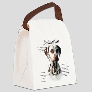 Dalmatian (liver spots) Canvas Lunch Bag