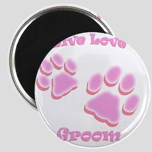 Live Love Groom Magnet