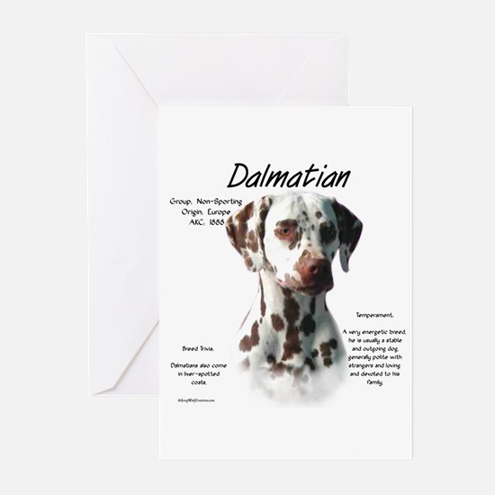 Dalmatian (liver spots) Greeting Cards (Pk of 20)