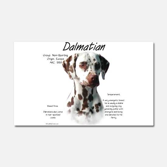 Dalmatian (liver spots) Car Magnet 20 x 12