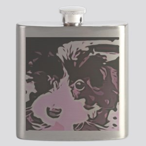 oreo the pup Flask