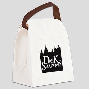 dark shadows Canvas Lunch Bag