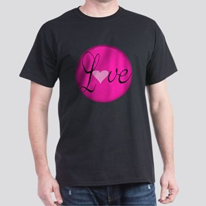 Love Message for Breast Cancer Awaren Dark T-Shirt