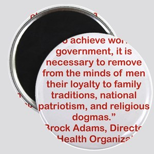 TO ACHIEVE WORLD GOVERNMENT... Magnet