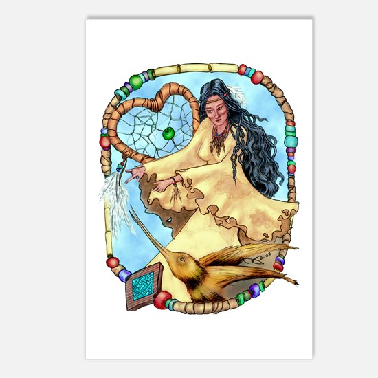 Hummingbird Dreamcatcher Postcards (Package of 8)