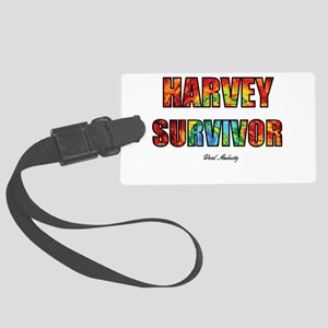 HARVEY SURVIVOR Large Luggage Tag