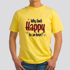 Limit Happy Hour? Yellow T-Shirt