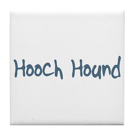 Hooch Hound Tile Coaster