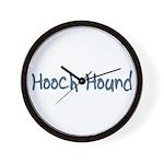 Hooch Hound Wall Clock