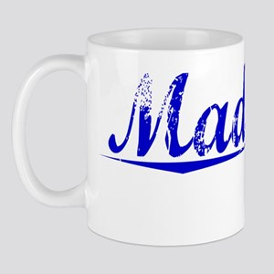 Madrigal, Blue, Aged Mug