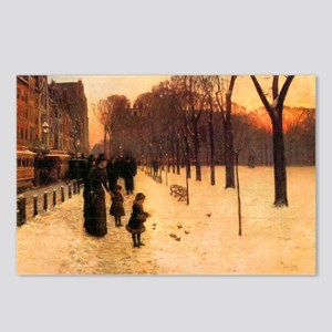 Childe Hassam Boston In E Postcards (Package of 8)
