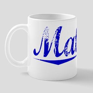 Matlock, Blue, Aged Mug