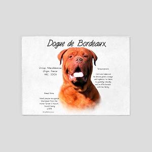 Dogue de Bordeaux 5'x7'Area Rug