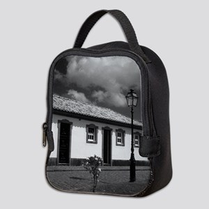 Small cottage Neoprene Lunch Bag