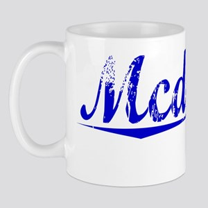 Mcdonell, Blue, Aged Mug