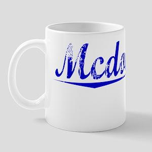 Mcdonough, Blue, Aged Mug