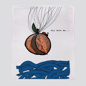 Fly With Me Throw Blanket