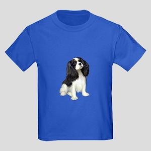 Cavalier (tri color) Kids Dark T-Shirt