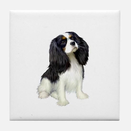 Cavalier (tri color) Tile Coaster