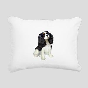 Cavalier (tri color) Rectangular Canvas Pillow